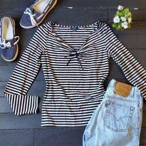 🌸 Nautica Striped Shirt
